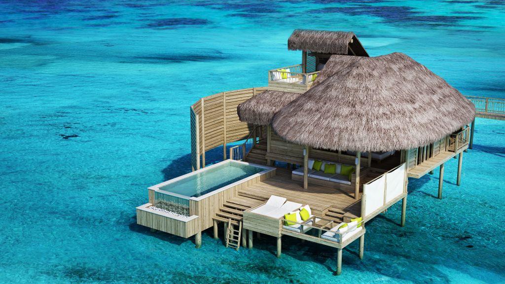 Răsfățați-vă simțurile, contribuind în același timp la durabilitatea și protecția mediului la Six Senses Laamu. Acest paradis uimitor nu oferă doar surfing și scufundări de clasă mondială, ci și imagini perfecte cu reciful de coral și plaje superbe. Durabilitatea este cea care își spune cuvântul în cazul acestei stațiuni.